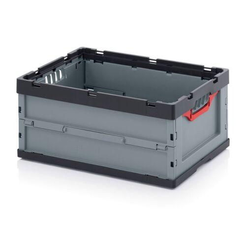 AUER Klappbare kiste, ohne deckel, 600 x 400 x 270 mm