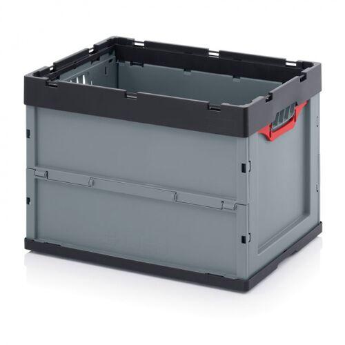 AUER Klappbare kiste, ohne deckel, 600 x 400 x 420 mm