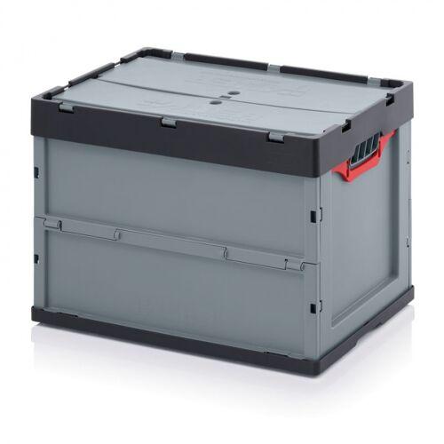 AUER Klappbare kiste, inkl. deckel, 600 x 400 x 420 mm