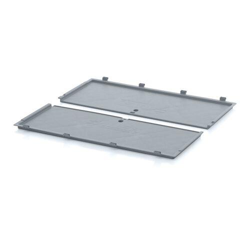 AUER Deckel für klappbare kisten, 800 x 600 mm