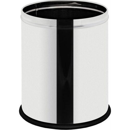 Alda Mülleimer ohne deckel, papierkorb, 7 liter, edelstahl