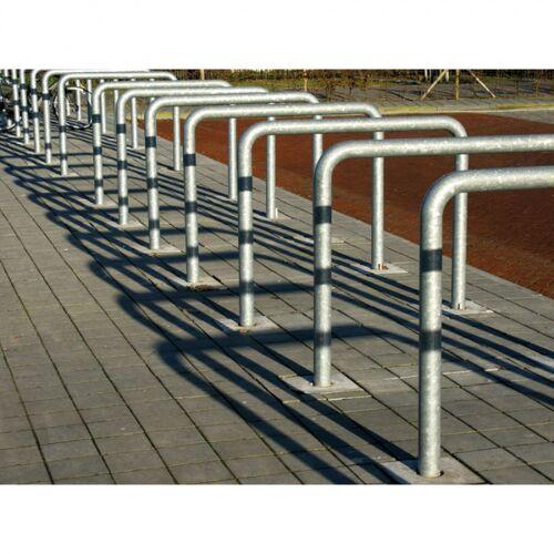 B2B Partner Fahrradständer, anlehnbügel, zur verankerung