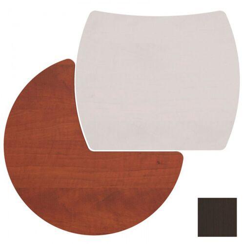 B2B Partner Tischplatte bern, rechts, wenge