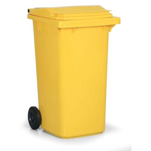 B2B Partner Kunststoff-mülltonne 240 liter, gelb