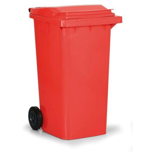 B2B Partner Kunststoff-mülltonne 240 liter, rot