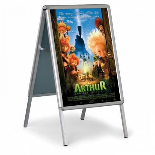 Jansen Display Werbung a-aufsteller - abgerundete ecken, 576 x 823 mm