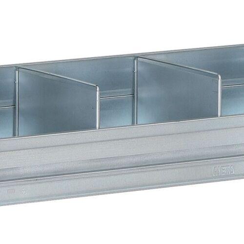 META Trennwand für die regale fix, clip, 300 mm
