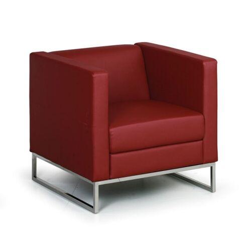 B2B Partner Sessel cube, rot