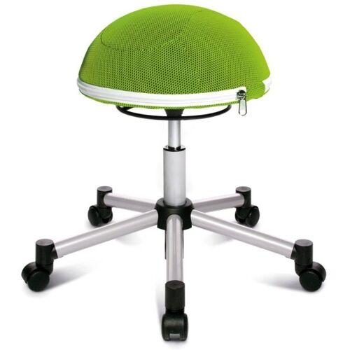 TOPSTAR Orthopädischer bürostuhl sitness half ball, grün