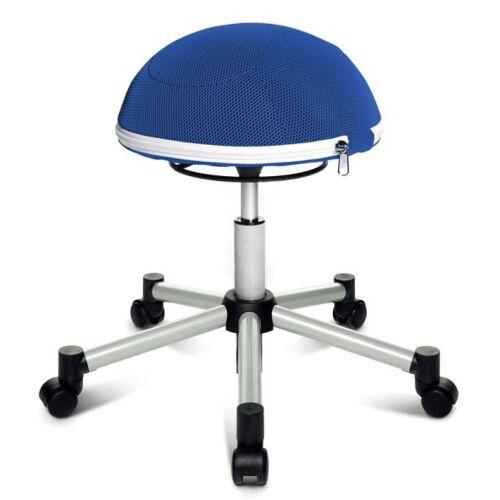 TOPSTAR Orthopädischer bürostuhl sitness half ball, blau