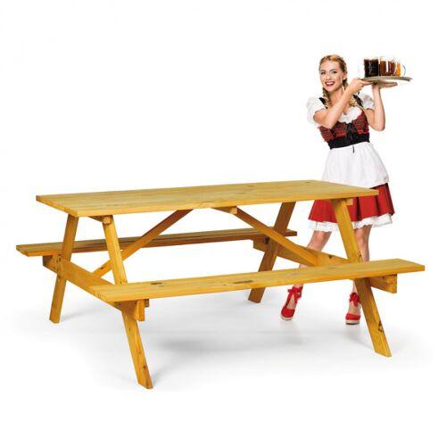B2B Partner Picknickset- 2 bänke, 1 tisch