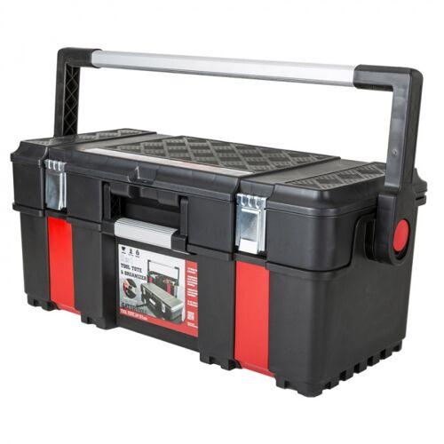 B2B Partner Werkzeugkoffer aus kunststoff mit tretdeckel