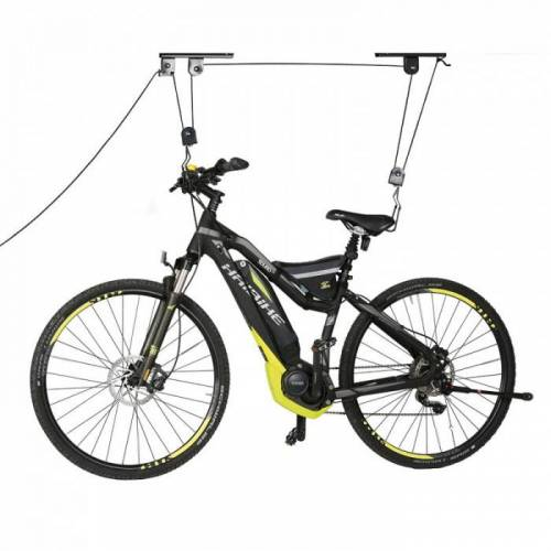 B2B Partner Fahrrad deckenhalterung, fahrradlifter, tragkraft 20 kg