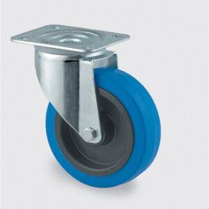 TENTE Transportrad mit blauer lauffläche, 100 mm, drehbar