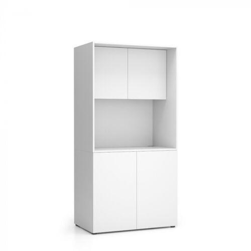PLAN Küche nika ohne ausstattung 1000 x 600 x 2000 mm, weiß