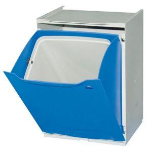 Artplast Kunststoffkorb für sortierten abfall, blau 1x 14