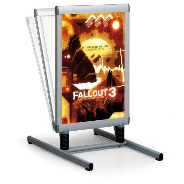 Jansen Display Außenplakatständer - wasserfest, 543 x 826 mm
