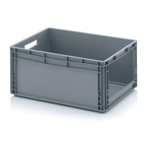 AUER Kunststoffkisten mit öffnung, 600 x 400 x 270 mm