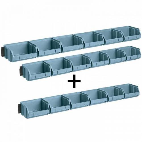 Artplast Leisten mit boxen, kleine boxen - 2+1 gratis