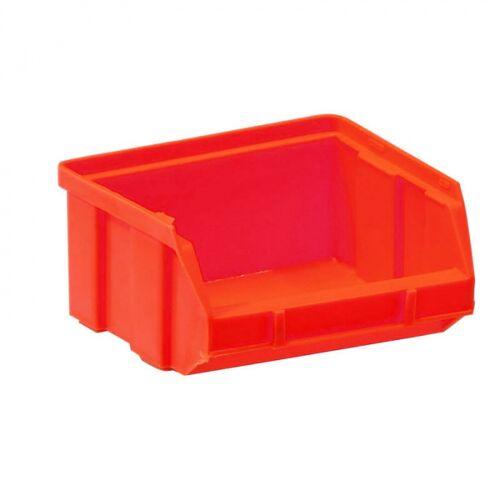 Artplast Kunststoffboxen, 100 x 95 x 50 mm, rot
