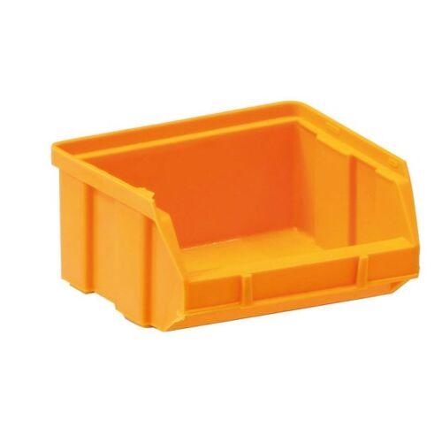 Artplast Kunststoffboxen, 100 x 95 x 50 mm, gelb-orange