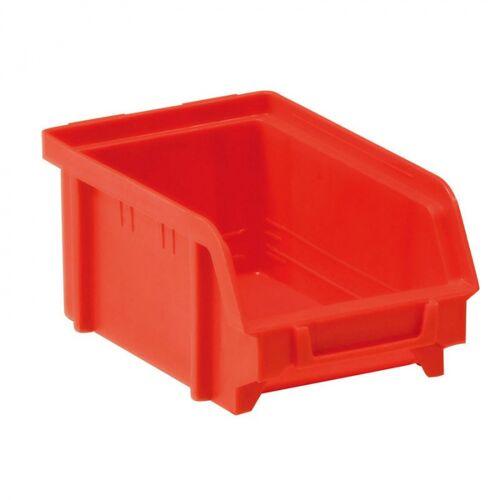 Artplast Kunststoffboxen, 103 x 166 x 73 mm, rot