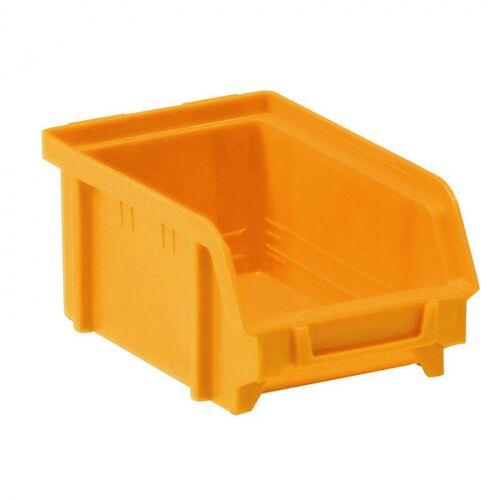 Artplast Kunststoffboxen, 103 x 166 x 73 mm, gelb-orange