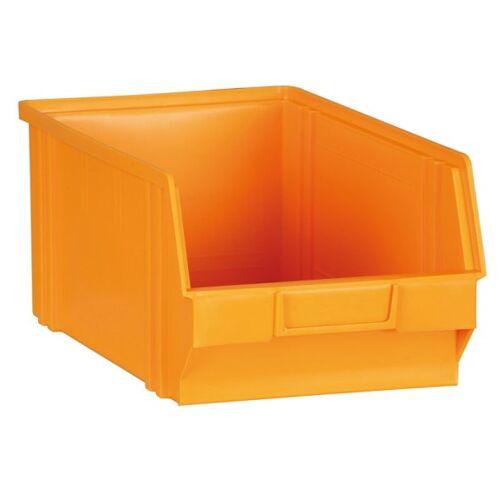 Artplast Kunststoffboxen, 305 x 480 x 177 mm, gelb-orange