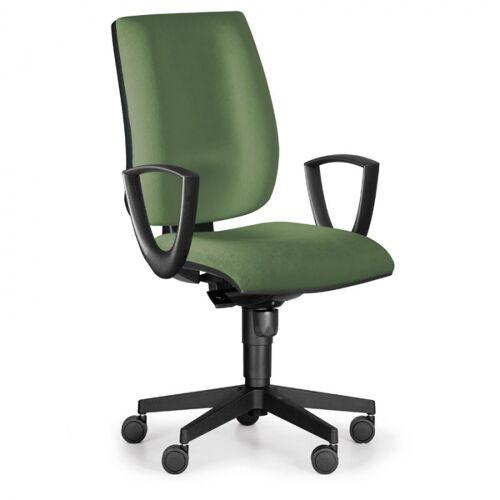 Antares Bürostuhl figo, synchronmechanik, grün