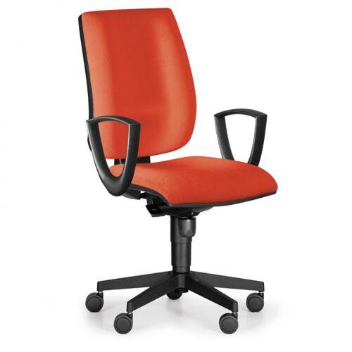 Antares Bürostuhl figo, synchronmechanik, orange
