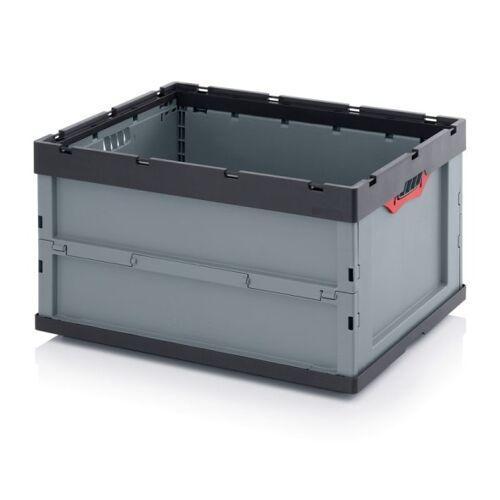 AUER Klappbox ohne deckel, 800 x 600 x 445 mm