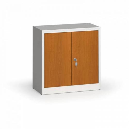 Alfa 3 Metallschrank, aktenschrank mit lamin. türen, 800 x 800 x 400 mm, ral