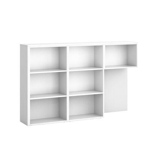 PLAN Schrank zum tisch s01 segment, links, weiß