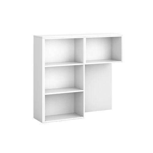 PLAN Schrank zum tisch s02 segment, links, weiß