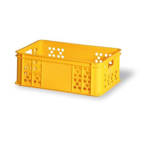 B2B Partner Kunststofftransportbehälter für gebäck, typ s 220-15, 600 x 400 x 220