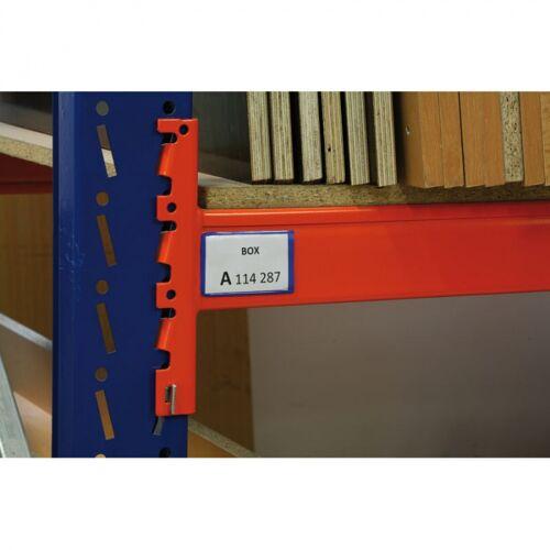 B2B Partner Magnetische taschen, 100 x 300 mm, 20 stk.