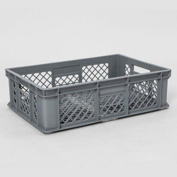 B2B Partner Kunststofftransportbehälter perforiert, 600x400x130 mm