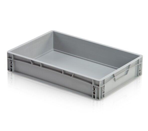B2B Partner Kunststofftransportbehälter, geschlossener griff, 600 x 400 x 120 mm