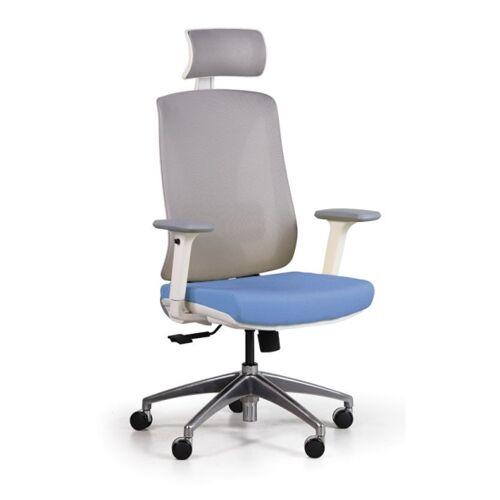 B2B Partner Bürostuhl mit netzrückenlehne envy, blau