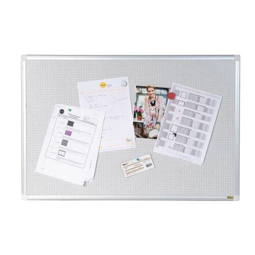 Bi-Office Magnetische pinnwand aus textil, 900x600 mm
