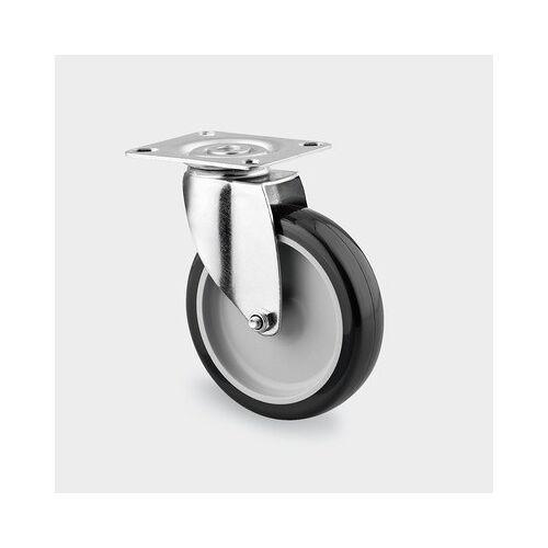 TENTE Armaturenrad, drehbar, 100 mm, pur-lauffläche