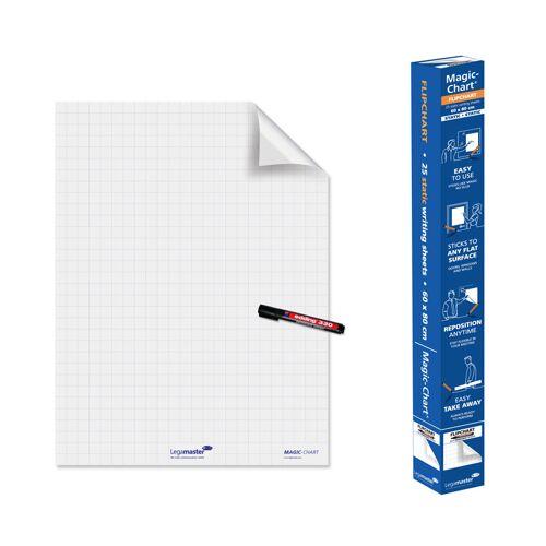 B2B Partner Whiteboardfolie, raster