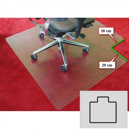 B2B Partner Bürostuhlunterlage für teppichböden - polycarbonat, t-form, 1340 x
