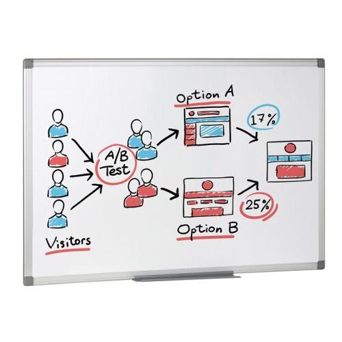 B2B Partner Whiteboard, magnettafel, 900 x 600 mm