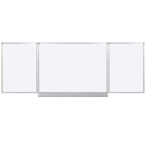 B2B Partner Whiteboard klapptafel, 120 x 240 cm