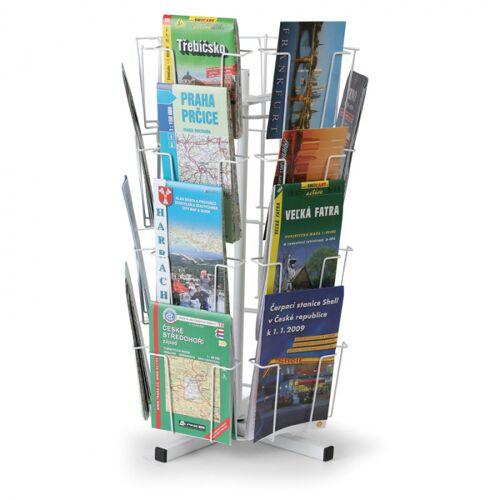 B2B Partner Drehbarer tischständer für postkarten, karten, 24 taschen