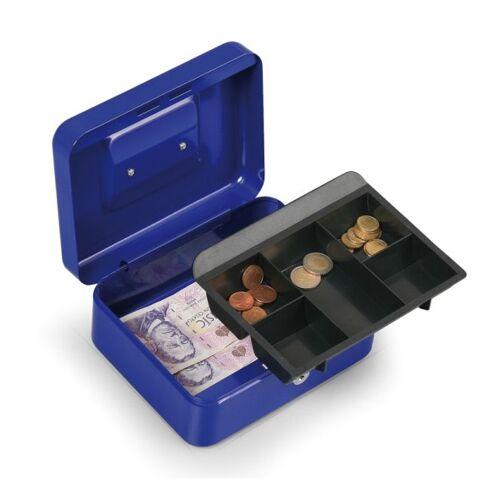 WEDO Geldkassette 90 x 250 x 180 mm, blau