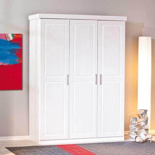 Schlafzimmerschrank aus Kiefer Massivholz 3-türig