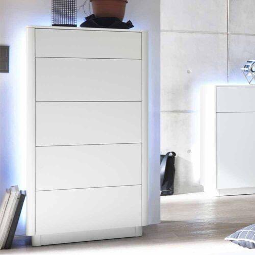 Schlafzimmer Kommode mit LED Beleuchtung Schubladen