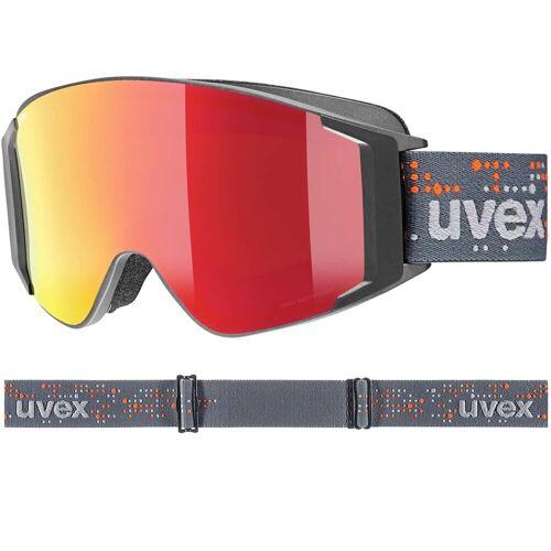 Uvex g.gl 3000 TO anthracite matt / FM red, lasergold-clear